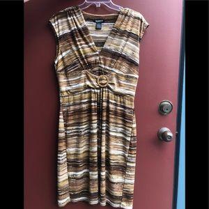 Glamour sleeveless dress, size 12.